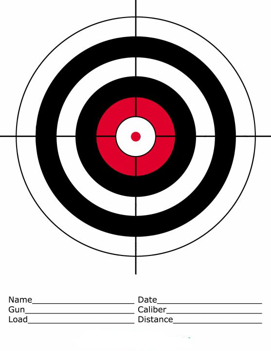 graphic relating to Turkey Shoot Targets Printable titled SAND SPRINGS SPORTSMAN CLUB